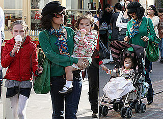 Photos of Salma Hayek With Daughter Valentina Pinault in LA
