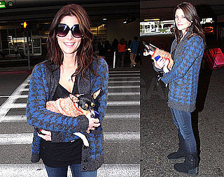 Photos of Ashley Greene at LAX
