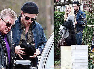 Photos of Robert Pattinson in London With Sister Lizzy