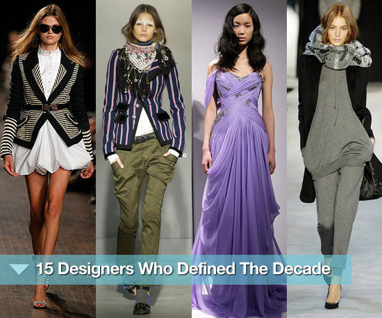 Fab Recap: 15 Designers Who Defined the Decade