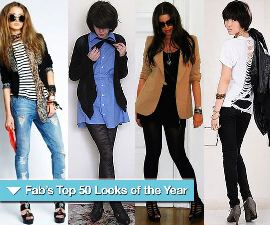 FabSugar&#039;s Top 50 Look Book Looks of 2009