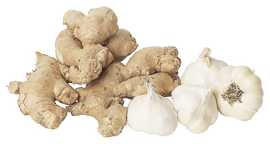 Ginger and Garlic