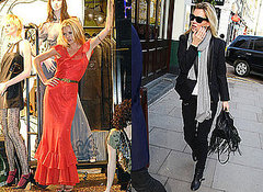 Enjoy the pictures of Kate Moss out in London (Nov 16-17)