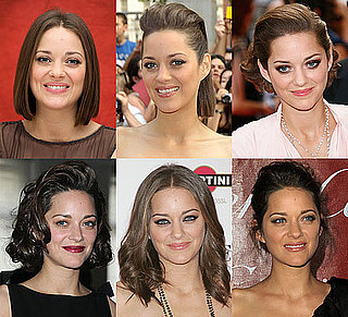 Pictures of Marion Cotillard's Hairstyles