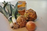 Leek Celery Root Soup Recipe
