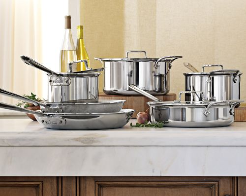 All-Clad d5 Stainless Steel Pots and Pans