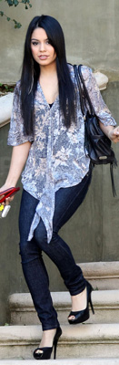 Vanessa Hudgens Carries Botkier Bag