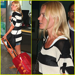 Kate Bosworth arrives at Miami Airport 