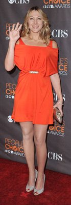Colbie Caillat Wears Orange to People's Choice