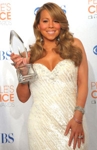 Mariah Carey Explains Her Speech at the Palm Springs Film Festival At the People's Choice Awards 2010-01-06 22:37:21