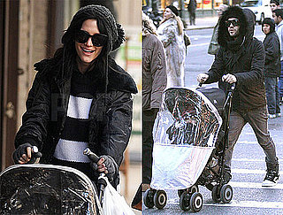 Photos of Ashlee Simpson and Pete Wentz Stroll Bronx Through NYC