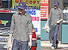 Photos of Adam Brody Picking up His Dry Cleaning in LA