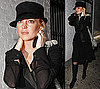Photos of Lindsay Lohan Wearing All Black in LA and Video of Lindsay Lohan in India 2010-01-11 05:00:00
