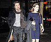 Slide Photo of Brad Pitt and Angelina Jolie Out to Dinner in NYC
