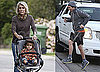 Photos of Matthew McConaughey in LA After the Birth of Vida; Levi McConaughey Walking With Matthew's Mother