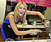 Slide Photo of Stephanie Pratt Making a Milk Shake in LA