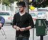Slide Photo of Justin Timberlake Eating in LA