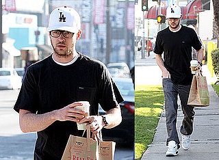Photos of Justin Timberlake Grabbing Groceries in LA