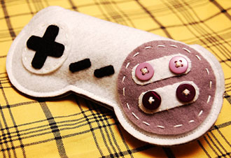 Handmade SNES Eyeglass Cases