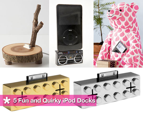 5 Fun and Quirky iPod Docks