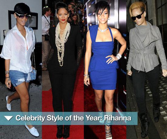 Rihanna Street Style Outfits