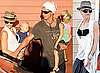 Photos of Gwen Stefani and Gavin Rossdale on Vacation / Holiday in St Bart's for New Year with Kingston and Zuma
