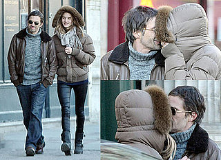 Photos of Olivier Martinez and Rosie Huntington-Whiteley Kissing in Paris Who Are Now Boyfriend and Girlfriend Pictures