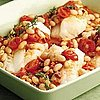 Chorizo White Bean Baked Fish Recipe