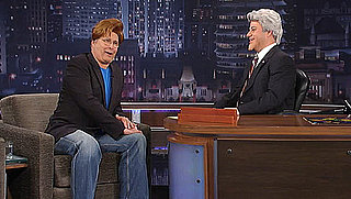 Jimmy Kimmel Portrays Jay Leno on Jimmy Kimmel Live, Guest Chevy Chase Dresses as Conan O'Brien
