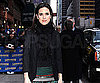 Slide Photo of Jennifer Connelly Outside Ed Sullivan Theater in NYC