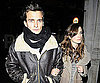 Slide Photo of Keira Knightley and Rupert Friend Going to Dinner