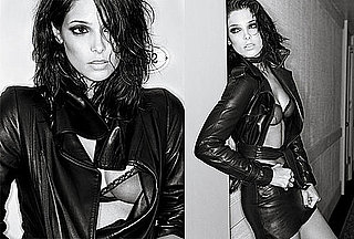 Ashley Greene Goes Black and White For Interview
