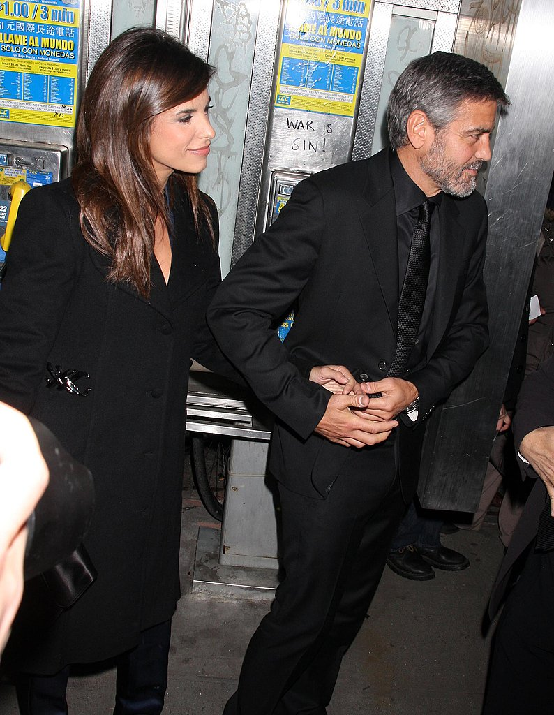Photos of George and Elisabetta