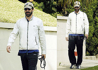 Photos of Jon Hamm With a Beard in LA