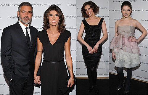 Photos of George Clooney, Elisabetta Canalis, Anna Kendrick at the National Board of Review of Motion Pictures Awards