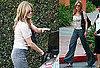 Photos of Jennifer Aniston Leaving a Meeting in LA