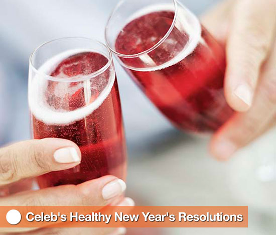 Celebs&#039; Healthy New Year&#039;s Resolutions