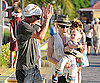 Photo Slide of Gwen Stefani And Gavin Rossdale With Zuma in St Bart's