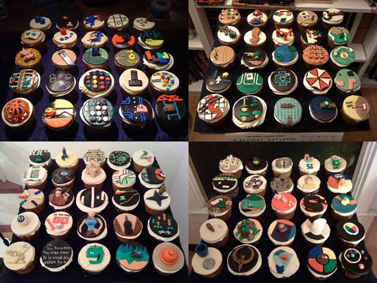 Photos of Game Cupcakes