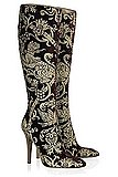 Love it or Hate it: Robert Cavalli Velvet Brocade Boots