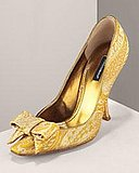 Love It!  Dolce &amp; Gabbana - Brocade Pump - Bergdorf Goodman