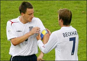 Beckham Gets Cut