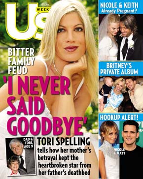 Tori Spelling Finally Lands a Cover