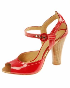 Shoe Fixation: Red Patent Leather