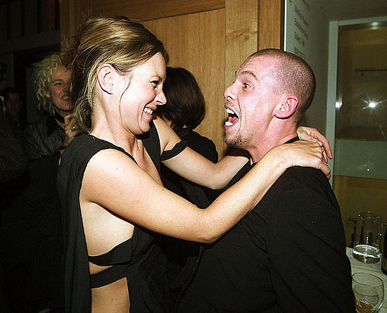 2002: Mario Testino private viewing with Alexander McQueen