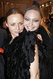 Stella McCartney and Sasha Pivovarova