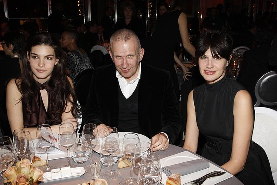 Bojana Panic, Jean Paul Gaultier, Helena Noguera