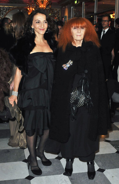 Nathalie and Sonia Rykiel