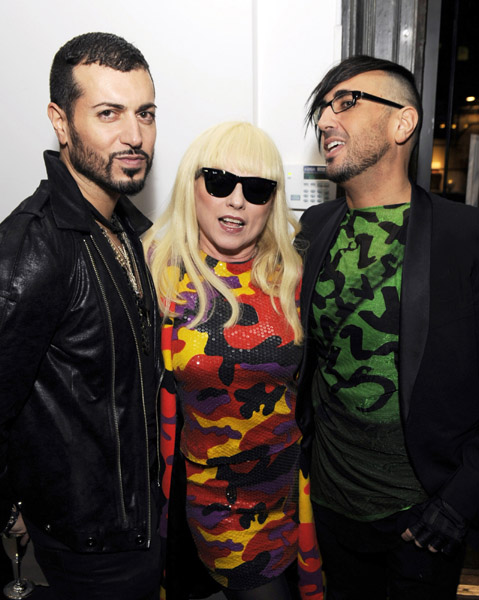 Roger Padilha, Debbie Harry and Mauricio Padilha