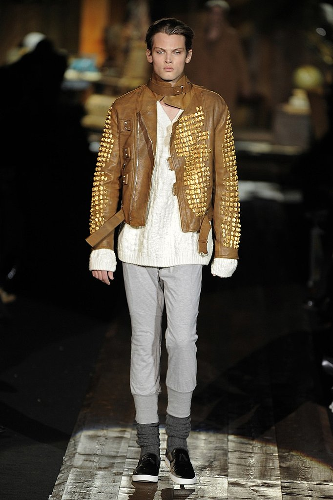 Milan: Roberto Cavalli Men's Fall 2009